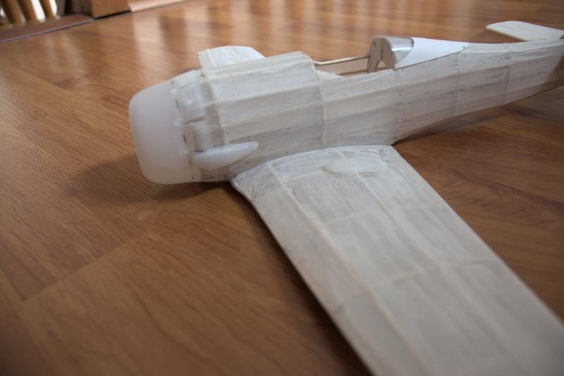 Exercice de style : construction d'un FW-190