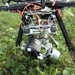 Drone vidéo F450 Nacelle 2axes et Mobius